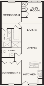 55 Plus Community New Port Richey Floor Plans